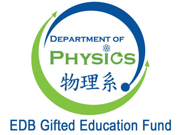 The Department of Physics secured an educational funding (~HK$600k) from EDB Gifted Education Fund