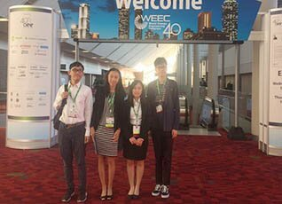 Undergraduate students attend World Energy Engineering Congress